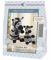 Go Handmade Crochet Kit Zebra Paula & Peter